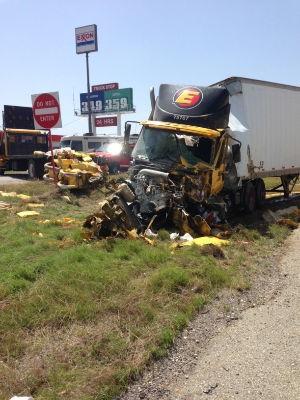 Doss Car Semi Accident